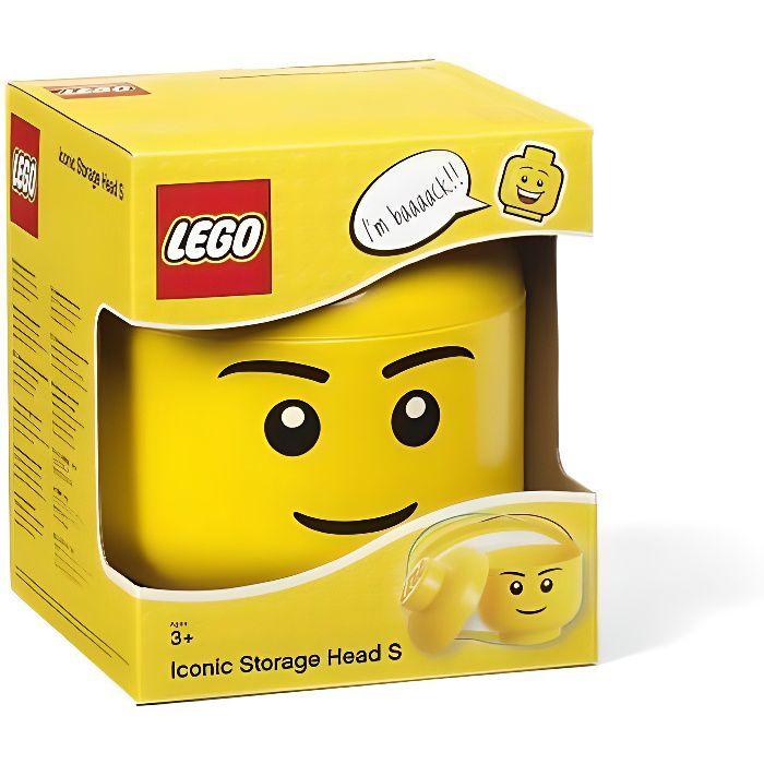 tête male Mix Neuf r1 Lego city 3 x jaune Figurine