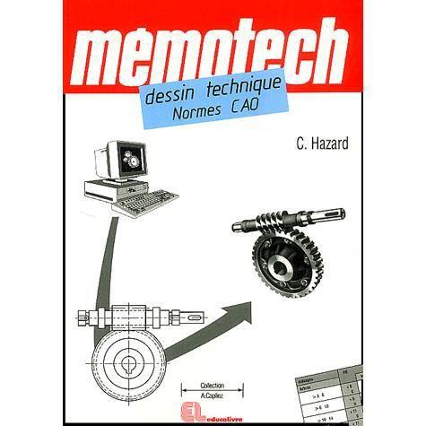 Mémotech dessin technique normes CAO