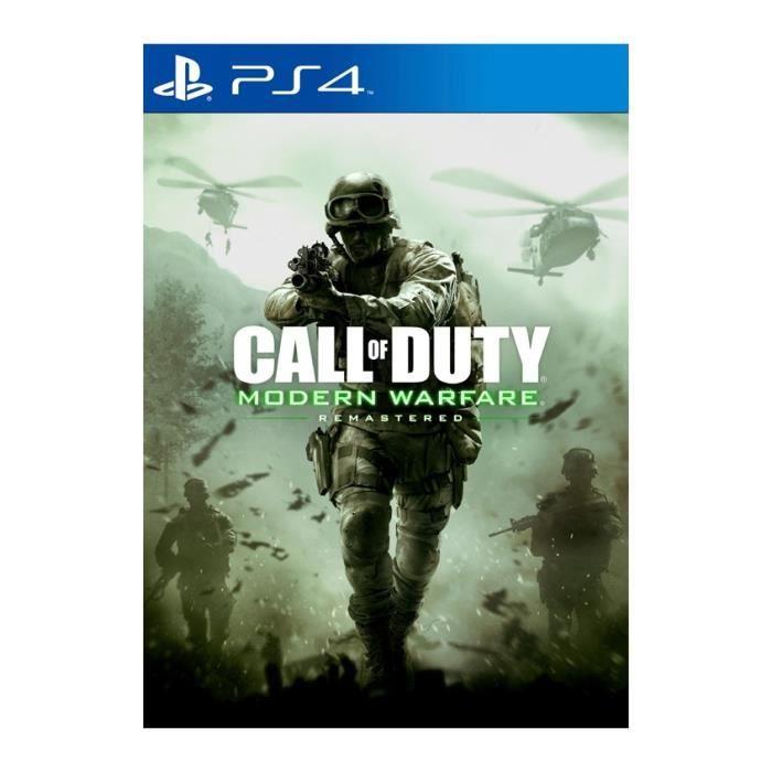 Call of Duty Modern Warfare Remastered Ps4+2 LED Light Bar