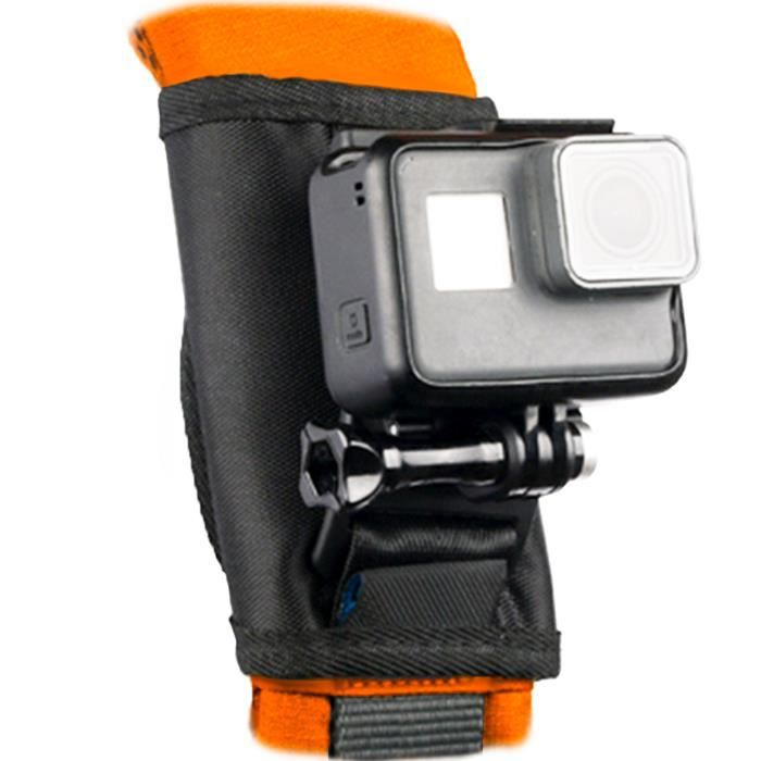 Fixation camera sac a dos 360 degrés de rotation pour GoPro ,Sony, Contour, TomTom,SJCM, Drift Innovation, Garmin, ISAW, Kodak, Rico