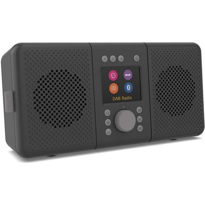 RADIO CD - RADIO CASSETTE - FM Pure ELAN Connect+ Radio Internet st&eacuter&eacuteo avec Dab+ et Bluetooth 5.0 (Dab-Dab+, Radi48