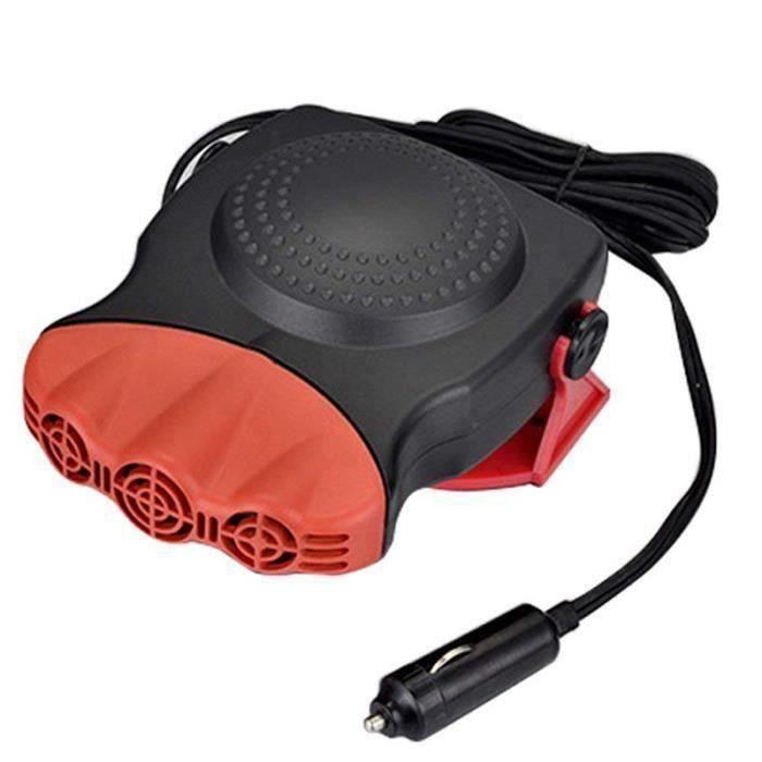 12 V 150 W Gouto en céramique Chauffage ventilateur de refroidissement 3-Outlet rapide Chauffage rapidement Savoureuse Defogg