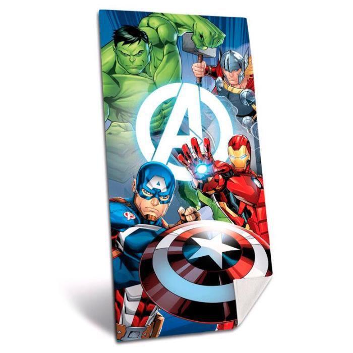 Serviette de plage en microfibre Marvel Avengers