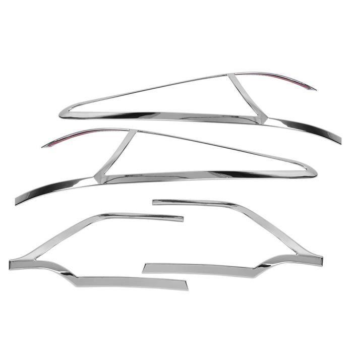 Drfeify garniture de feu arrière 4 pièces voiture arrière feu arrière lampe décoration couverture garniture pour Kia Sportage
