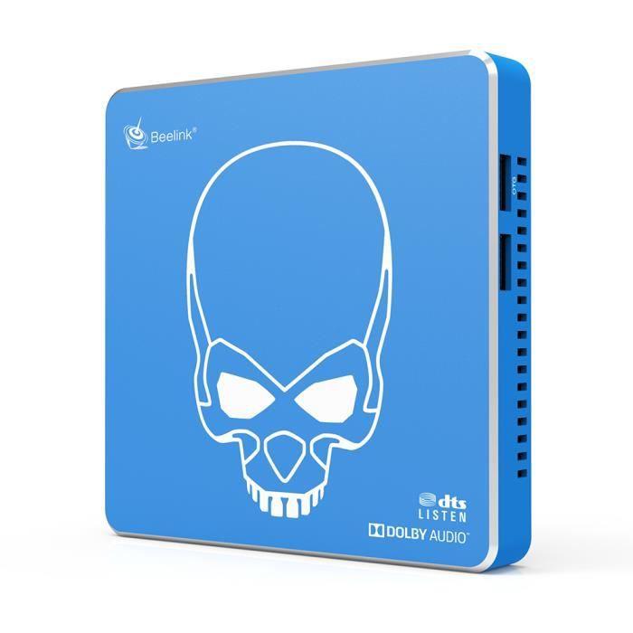 TV Box Beelink GT-King Pro 4GB+64GB Amlogic S922X-H Android 9.0 Hi-Fi Sans Perte Son 4K Dolby Audio Dts Écoute