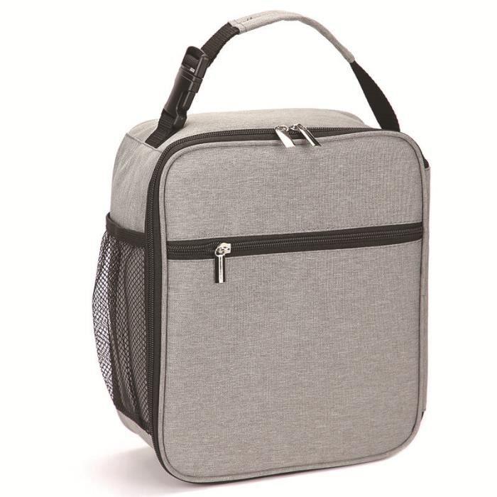 Sac Repas Lunch Bag Sac à Déjeuner Sac Fraîcheur Portable Isotherme Hibou vert 22cm X 16cm X 12cm
