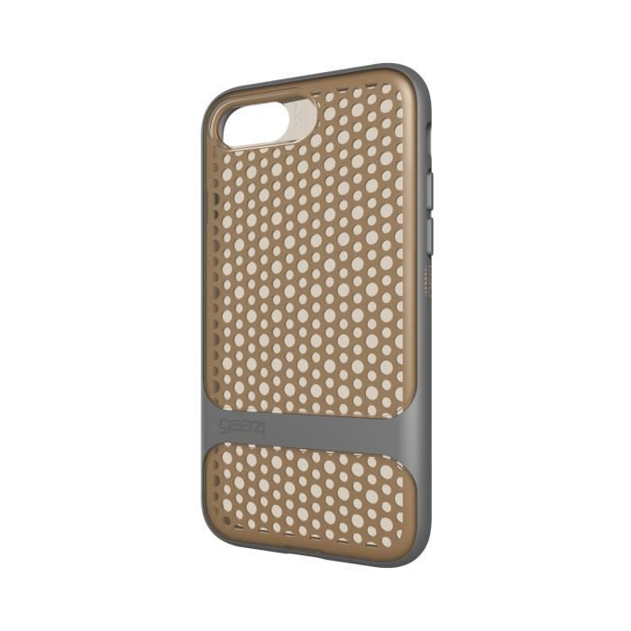 GEAR4 D3O Carnaby Coque - iPhone 7 - Or