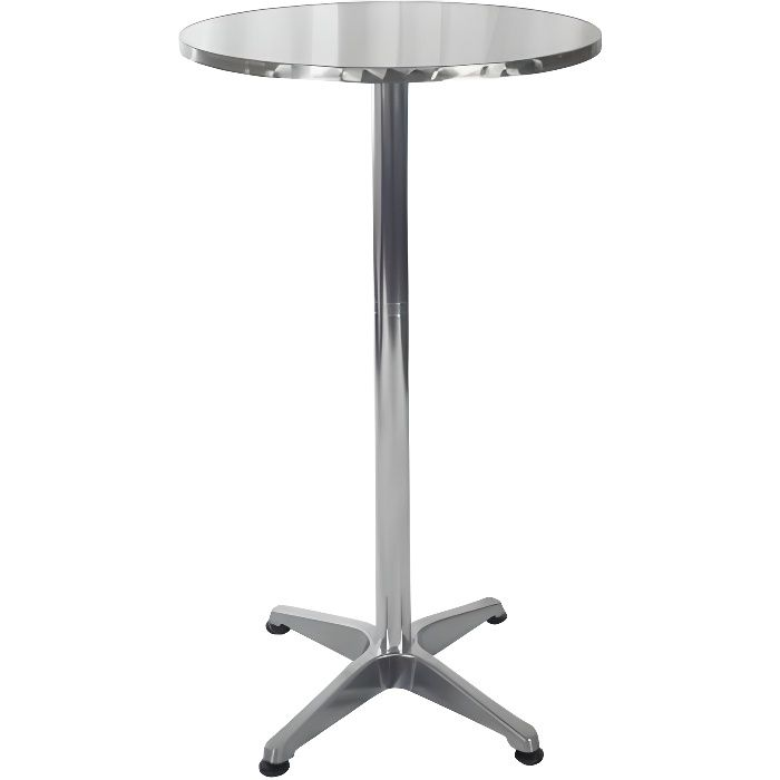 Table de Bar 60cm diamètre du Plateau Table Haute de soirée évenement