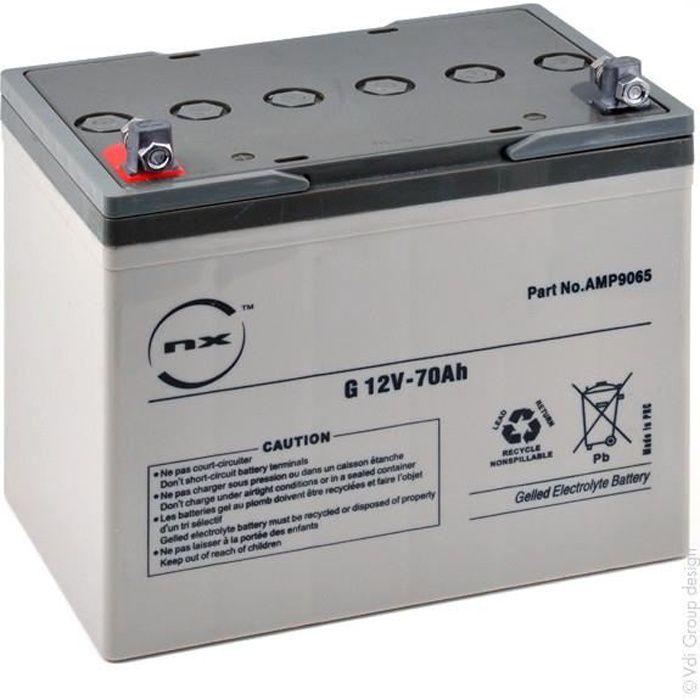 Batterie plomb etanche gel G 12V-70Ah 12V 70Ah - Batterie(s)