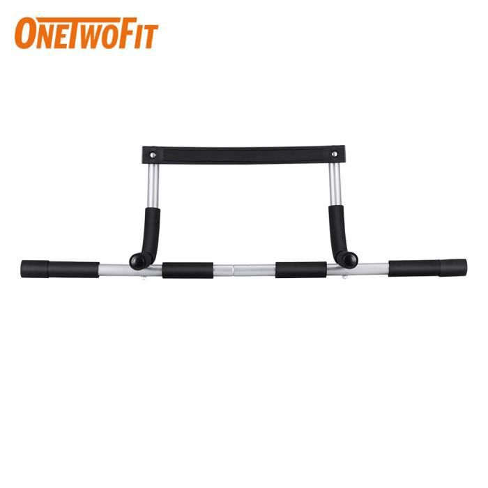 OneTwoFit Pull Up Bar Traction Exercice Heavy Duty Doorway Fitness Home Gym OT171