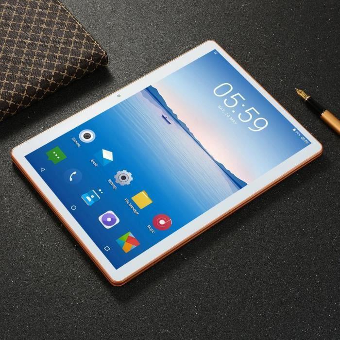 10.1 inch for Android 8.1 plastic Tablet Pc Wifi 4G + 64G Tablette Ordinateur intelligent Réglementation européenne