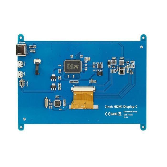7 pouces Module Lcd ultra clair 1024*600 pour écran affichage