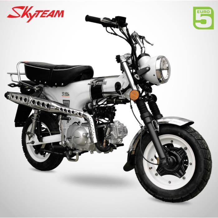 Mini Moto - DAX 50 - Blanc - SKYTEAM