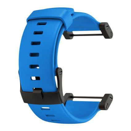 SUUNTO Bracelet de Montre Core Crush Bleue Silicone Strap