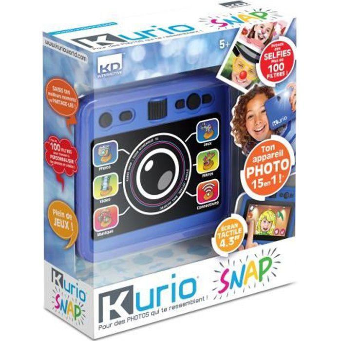 KURIO SNAP Appareil Photos et Selfies - bleu