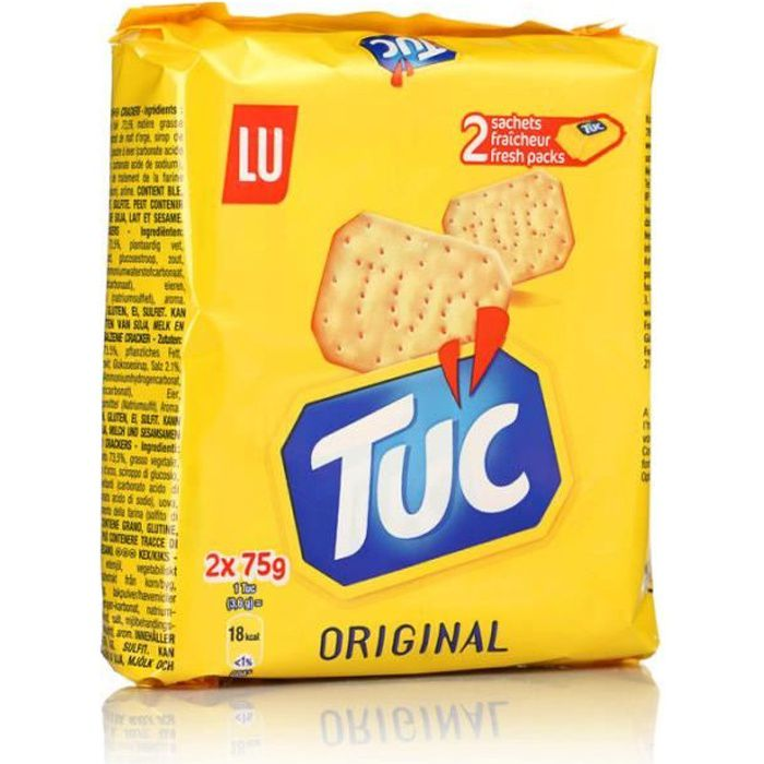 TUC Biscuits salés fresh pack 2x75g