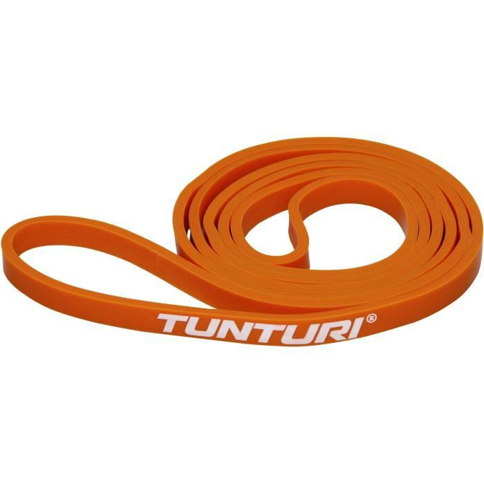 TUNTURI Bande de force powerband extra léger pour musculation orange