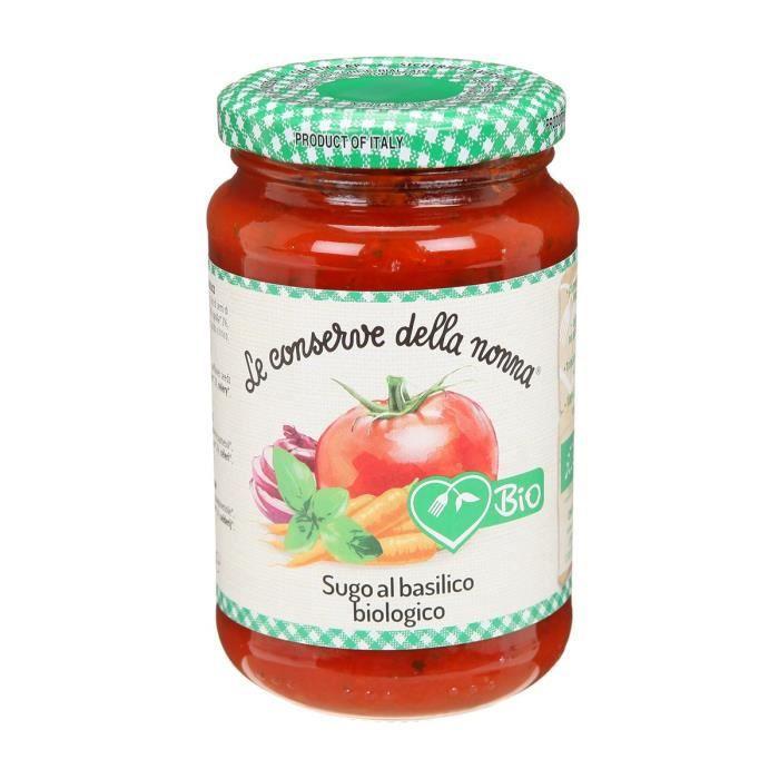 Sauce tomate au basilic bio - 350 g
