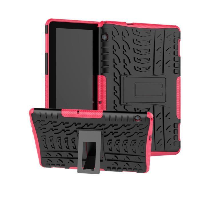 HOUSSE TABLETTE TACTILE Pour Huawei MediaPad T5 10.1in hybride robuste en