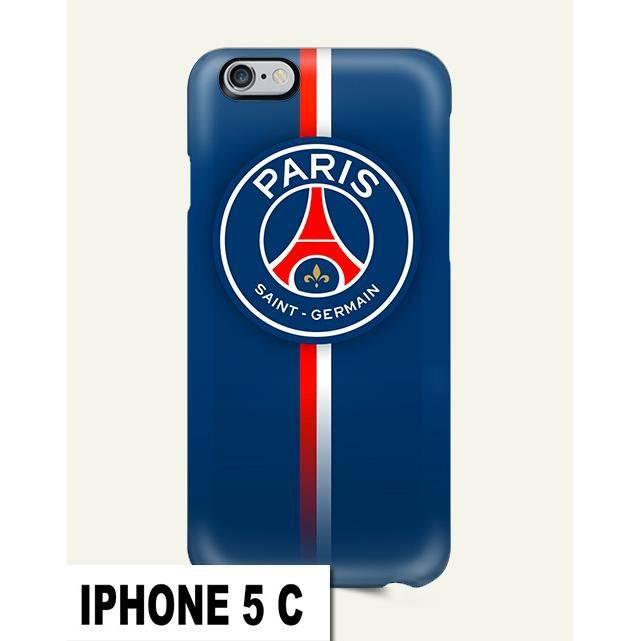 coque iphone 5c psg foot