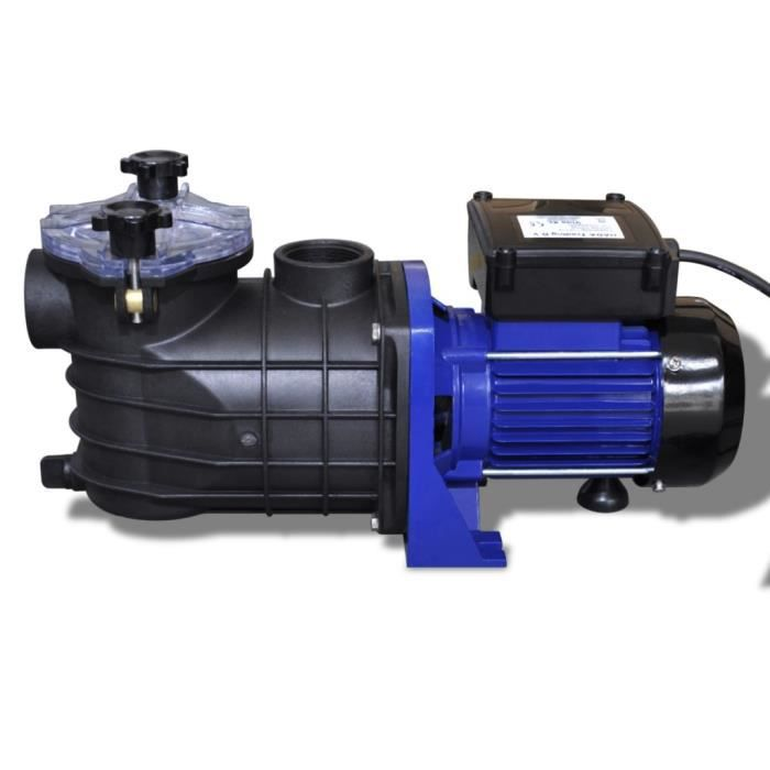 Pompe filtration piscine 800 W Bleu bassin piscine filtration professionnelle