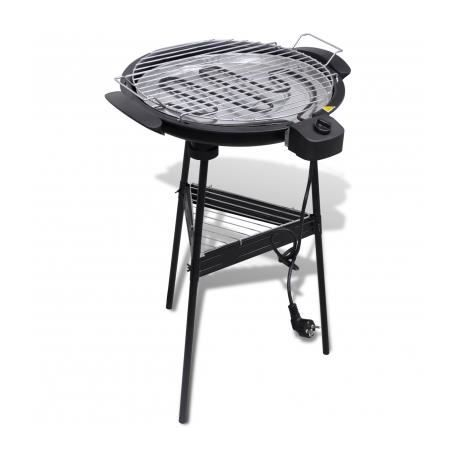 barbecue electrique grille ronde pour jardin stylashop achat vente barbecue barbecue. Black Bedroom Furniture Sets. Home Design Ideas