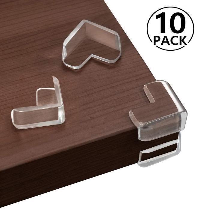 pour Tables et coins de Meubles Coin de Table Protection Bebe,24 pi/èces Protections Dangles Protection Angle de Table Silicone pour B/éb/és et Enfants