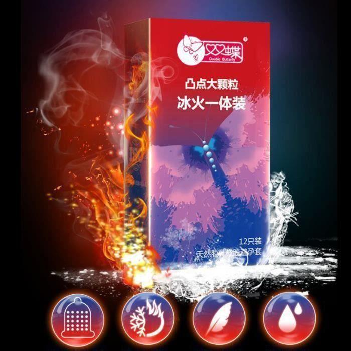 PRÉSERVATIF 12 préservatifs en latex naturel ultra-mince prése