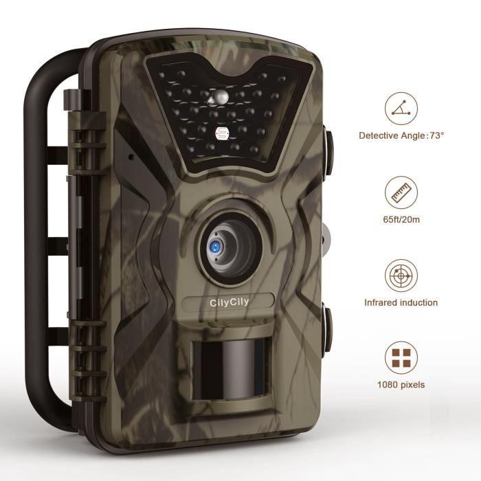 """CAMÉSCOPE NUMÉRIQUE CilyCily Caméra de chasse 2,4"""" LCD Affichage  IR V"""