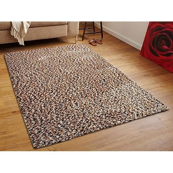 tapis shaggy 300x400 cm polyester beige oren achat vente tapis cdiscount. Black Bedroom Furniture Sets. Home Design Ideas