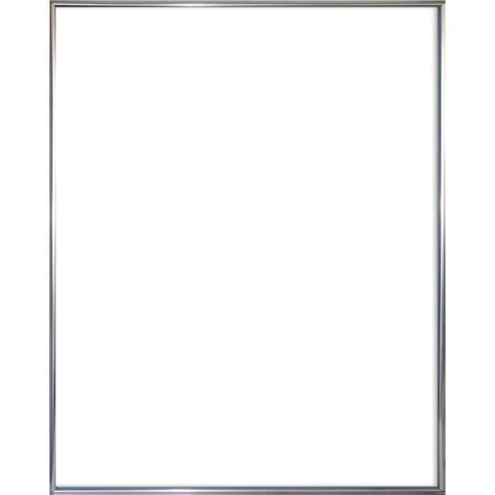 CADRE PHOTO Cadre pour poster en plastique argenté - format 40