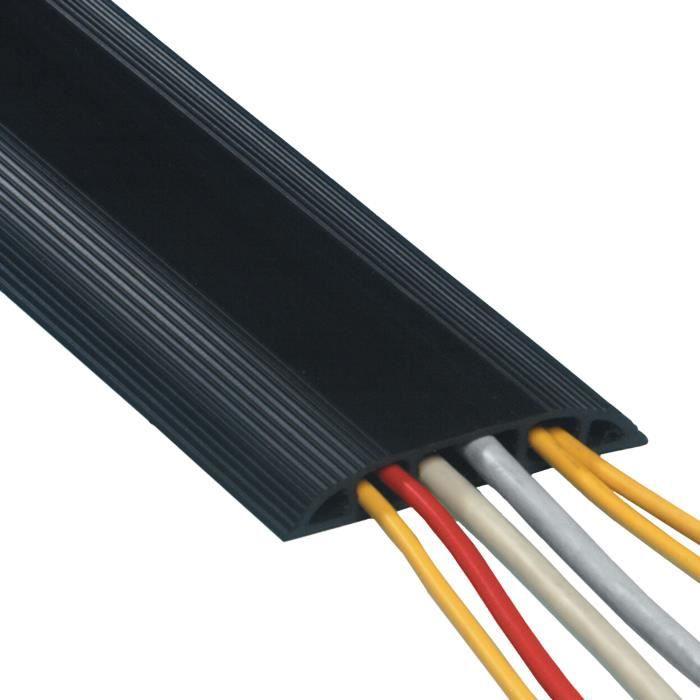 Switch Electronics Mini 2:1 Bobine de Gaine thermor/étractable Noir 6,4 mm 9 m