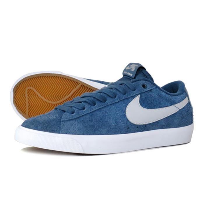 nike blazer low bleu online