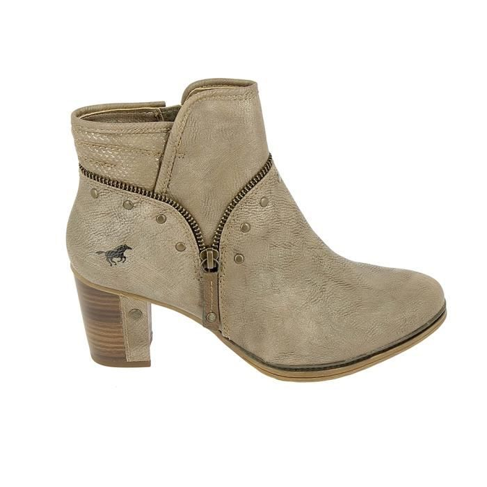 Botte et bottine MUSTANG Boots 1199518 Marron