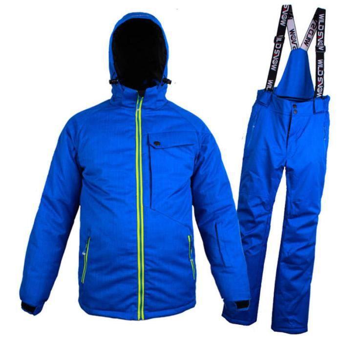 Combinaison de ski homme de Marque luxe Pantalons de ski