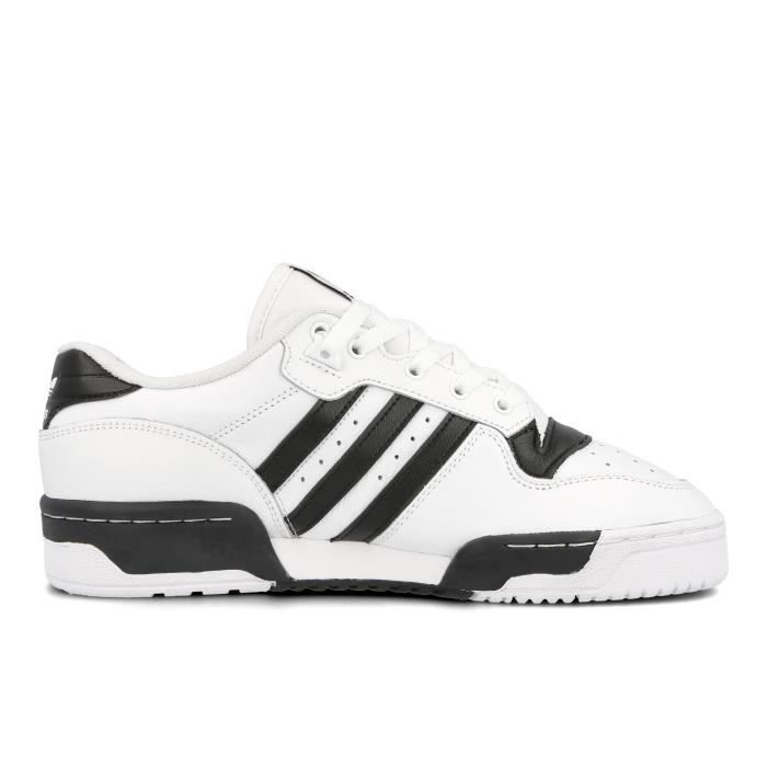 ADIDAS RIVALRY LOW EG8062 BLANCHE/NOIR - Cdiscount Chaussures