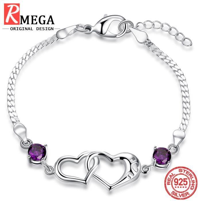 bracelet argent femme 925