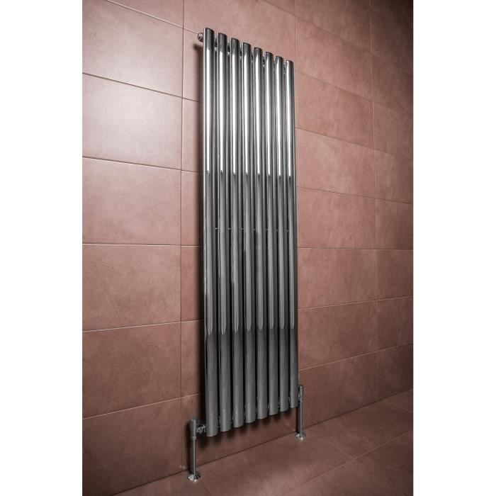 beautiful radiateur eau chaude design double norden w x chrome chauffage central with radiateur. Black Bedroom Furniture Sets. Home Design Ideas