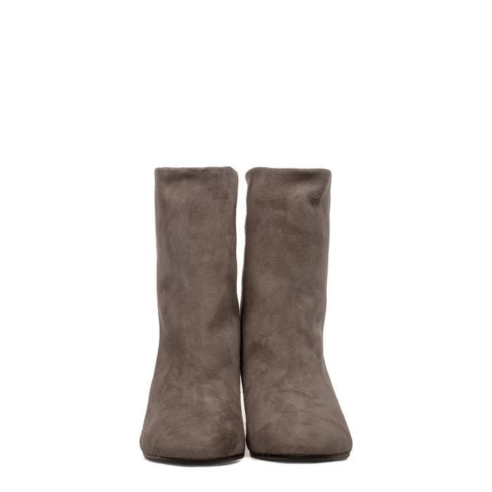 MARC ELLIS FEMME MA2001GREY GRIS SUÈDE BOTTINES aT3KgeDXt