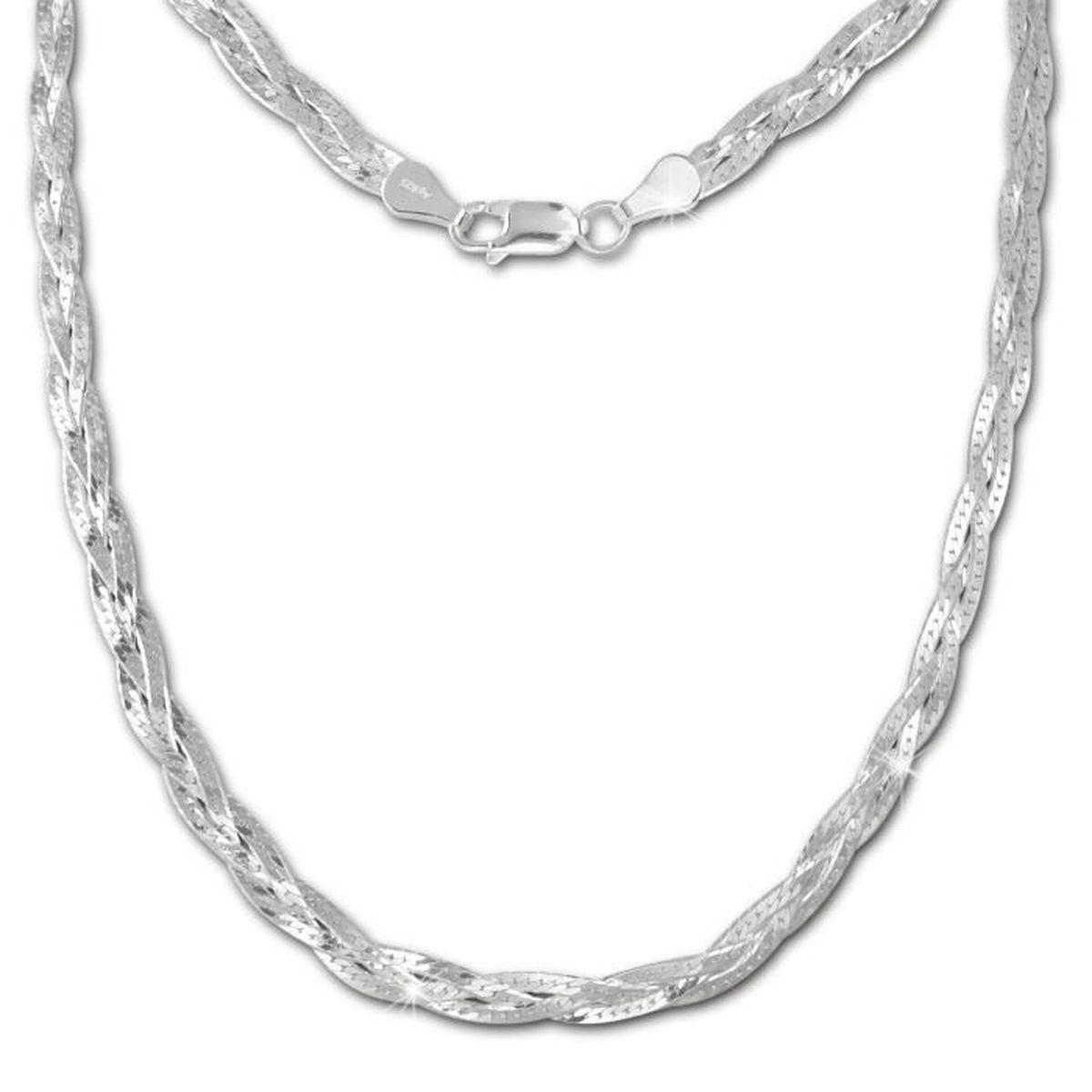 collier argent femme 50cm