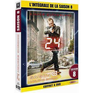 DVD SÉRIE DVD 24 heures chrono, saison 8