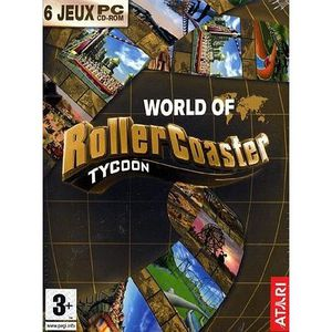 JEU PC WORLD OF ROLLER COASTER TYCOON / PC CD-ROM