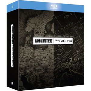BLU-RAY FILM Coffret Band of brothers et The Pacific - En Blu-r