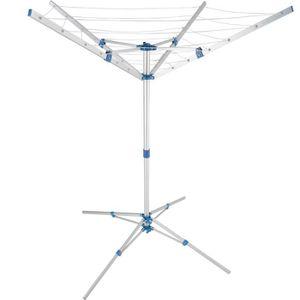 FIL À LINGE - ÉTENDOIR Séchoir rotatif  aluminium etendoir parapluie Cord