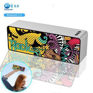 ENCEINTE NOMADE Enceinte Bluetooth Portable sans fil, Graffiti Sub