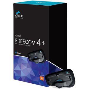 INTERCOM MOTO INTERCOM CARDO FREECOM 4+ SOLO Noir