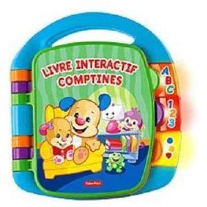 LIVRE INTERACTIF ENFANT Livre Interactif Comptines, Jouet Musical d'Éveil
