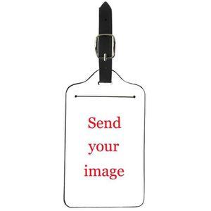 Voyage Bagages Etiquettes avec la vie privée Couvre Lot de 2 étiquettes-facile de verrouillage en acier L....
