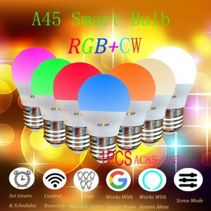 AMPOULE - LED Ampoule Smart Light LED WiFi RGBColor Changement C