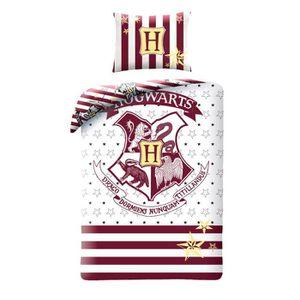 HOUSSE DE COUETTE SEULE Harry Potter Simple coton Housse de couette et tai